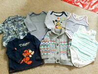3 to 6 months baby boy bundle clothes