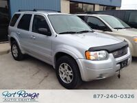 2004 Ford Escape Limited 4X4 - LTHR/SUNROOF