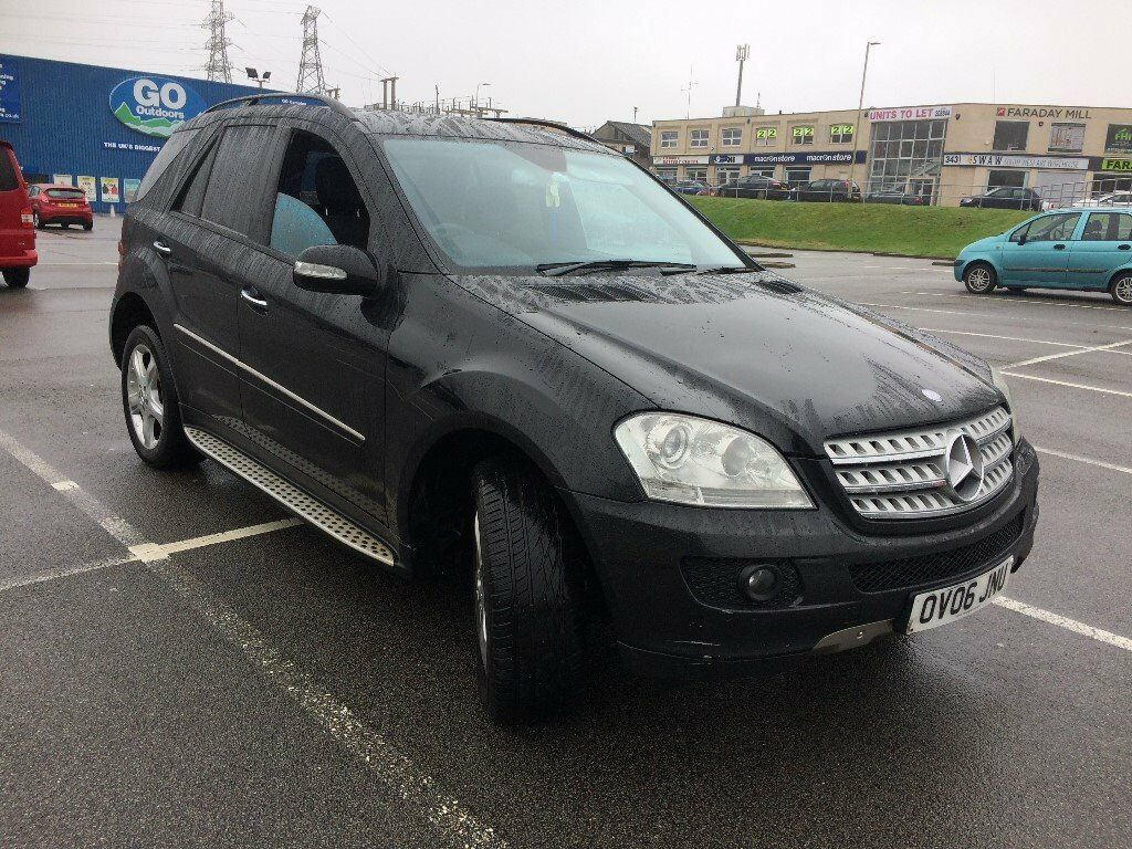 2006 mercedes ml 320 cdi sport a black in plymouth devon gumtree. Black Bedroom Furniture Sets. Home Design Ideas