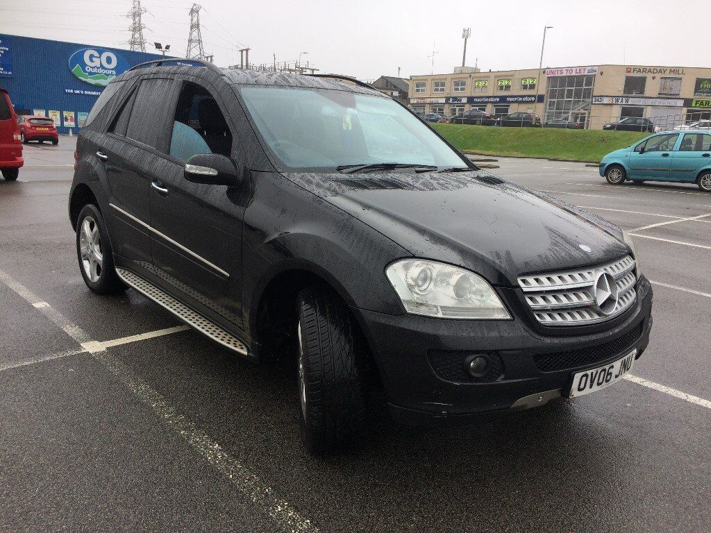 2006 mercedes ml 320 cdi sport a black in plymouth. Black Bedroom Furniture Sets. Home Design Ideas