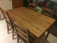Dinning table - like new! (Chairs not included)