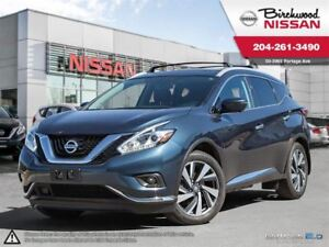 2016 Nissan Murano Platinum Navi, 20S , Cooled Seats + Much More