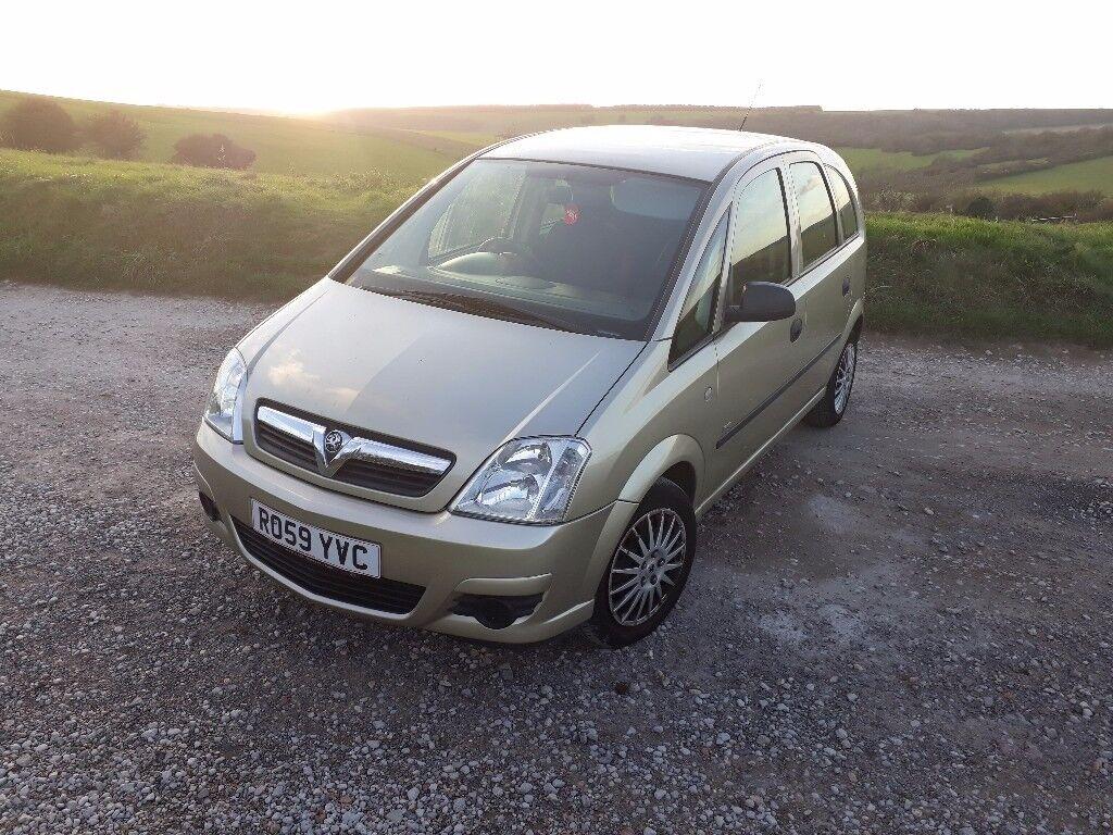 Vauxhall Meriva, Auto, 2009, 90K, 12months mot