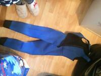 Dry suit size small
