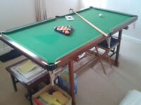 6×3 Pool Table great condition