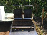 Buffalo Twin Grill - ideal for toasties / paninis / grilling meat & veg