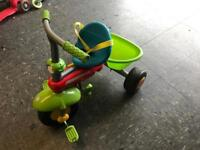 Kids Smart Trike in multi coloured with full accessories