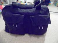BLACK CHANING BAG