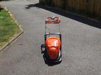 flymo hover mower 330 in built grassbox.