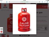 13Kg calor/propane full gas bottle