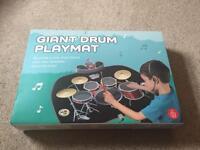 Giant drum kit play mat