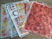 Card making and scrapbooking bundle