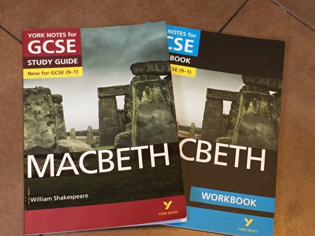 YORK NOTES - Macbeth - 2 books