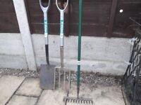 Garden Fork/Spade/Rake