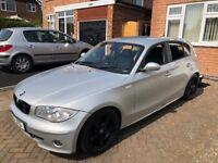 BMW 120d 80k miles, FSH, Long Mot and full leather