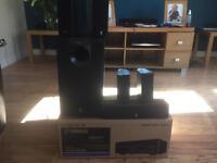 Yamaha HTR - 2866 4k pass through with Yamaha 5.1 speakers bargain