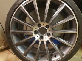 AMG mrrcedes alloy wheel 19 inch