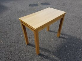 Ikea Bjursta 50-90cm Oak Veneer Exending Table FREE DELIVERY 646