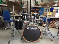 ' Yamaha'full set of drums waiting for a lovely new home!!