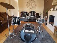 Vintage Premier original APK Fusion Drum kit USED