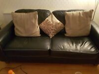 Leather Sofa & chairs for sale - good condition