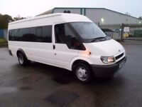 FORD TRANSIT 2.4 TDCI 17 SEAT MINIBUS EXCELLENT CONDITION ONLY 86K MILES MINI BUS