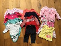 6-9 month baby girls bundle, mothercare, asda, morrisons