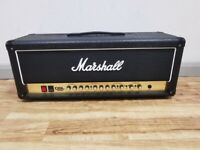 Marshall DSL100H 100W Valve Head With Marshall Double Footswitch