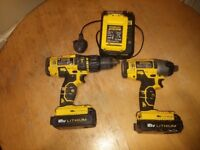 stanley fatmax 18V impact and hammer drill