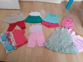 Girls 3-6 months 16 item bundle