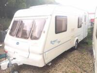 Caravan bailey Ranger 550/6 6berth with motor mover