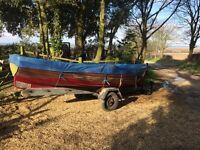 clinker fishing boat