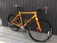 Stunning Orange Rx9 Cross Bike large frame