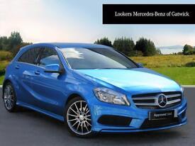 Mercedes-Benz A Class A200 CDI BLUEEFFICIENCY AMG SPORT (blue) 2014-01-31