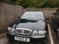 2002 rover 45 low mileage 67k