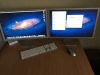 Apple Mac Pro 2.1 / CPU 8xCore 2GHz / 32GB RAM / GeForce 7300GT / 4xHDD / 2xMonitor