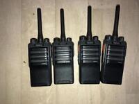 Hytera Digital Portable Radios PD405 x4