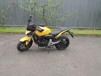 Yellow Honda Hornet 600cc Top Condition