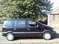 Vauxhall Zafira Life 1.6 2005 (55)**7 Seater**Full Years MOT**ONLY £1595!!!