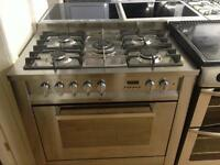 Silver 5 Burner gas cooker