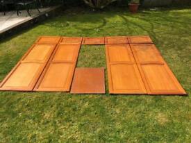 Hardwood Wardrobe doors