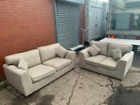 NEXT Fabric sofas 3&2 delivery 🚚 sofa suite couch furniture
