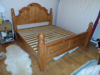 SUPERKING SIZE BED FRAME approx 10Yrs old, excellent condition, some minor cosmetic scratches