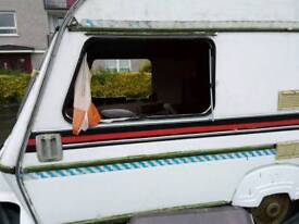 Caravan for scrap