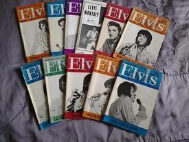 ELVIS PRESLEY MONYHLY MAGAZINES. 18th Year 1977