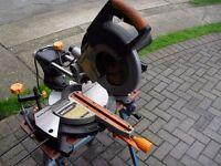 "Evolution Power Tool Rage 3 255mm (10"") TCT Multi Purpose Sliding Mitre Saw"