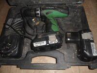 Hitachi hammer drill 18V Li-ion