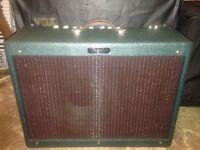 Fender Hot Rod Deluxe 3 Amplifier - LIMTED EDITION EMERALD GREEN CANNABIS REX SPEAKER - Rare