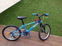 "Boys 20"" mountain bike, hardly used, suit 6-9yrs"