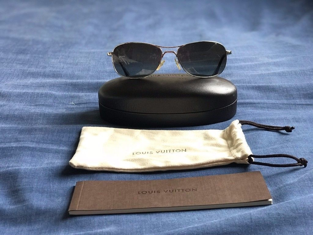 4778fe471c55 Genuine Louis Vuitton Conspiration Pilote Sunglasses